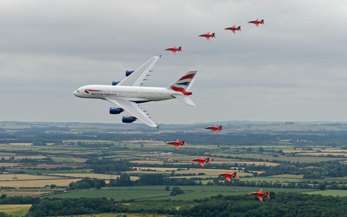British airways with protocol ♥
