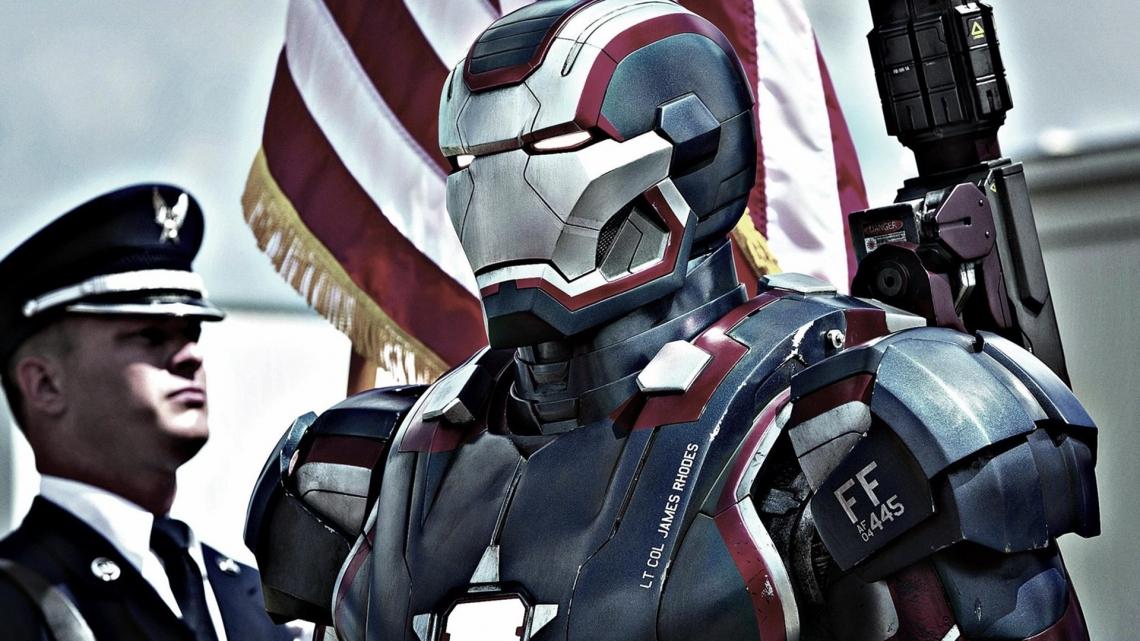 Iron patriot in iron man 3 1080p