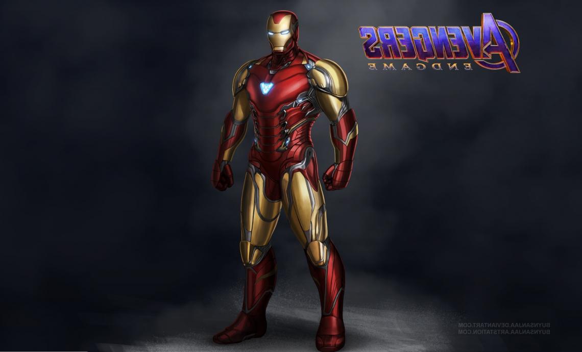 Avengers endgame iron man mark