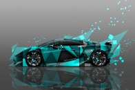 Lamborghini sesto elemento abstract