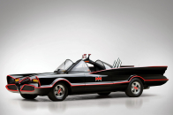 Lincoln Futura Batmobile superhero batman dark knight supercar concept