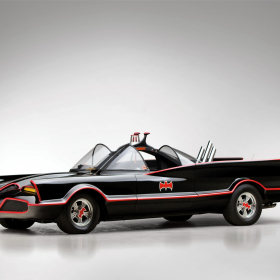 Lincoln Futura Batmobile superhero batman dark knight supercar concept