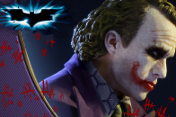 Joker in the dark knight 4k pn