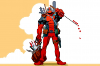 Deadpool comic hd wallpaper 2560x1440