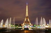 4k Paris Eiffel Tower
