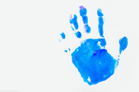 Handprint background