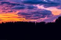 Beautiful sky clouds colors