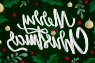 Merry, christmas, 2021
