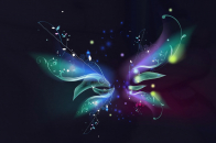 Colorful Hand Make Butterfly 8k Wallpaper