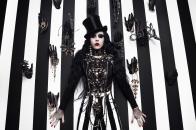 Gothic model fashion style
