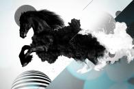 Dark horse art