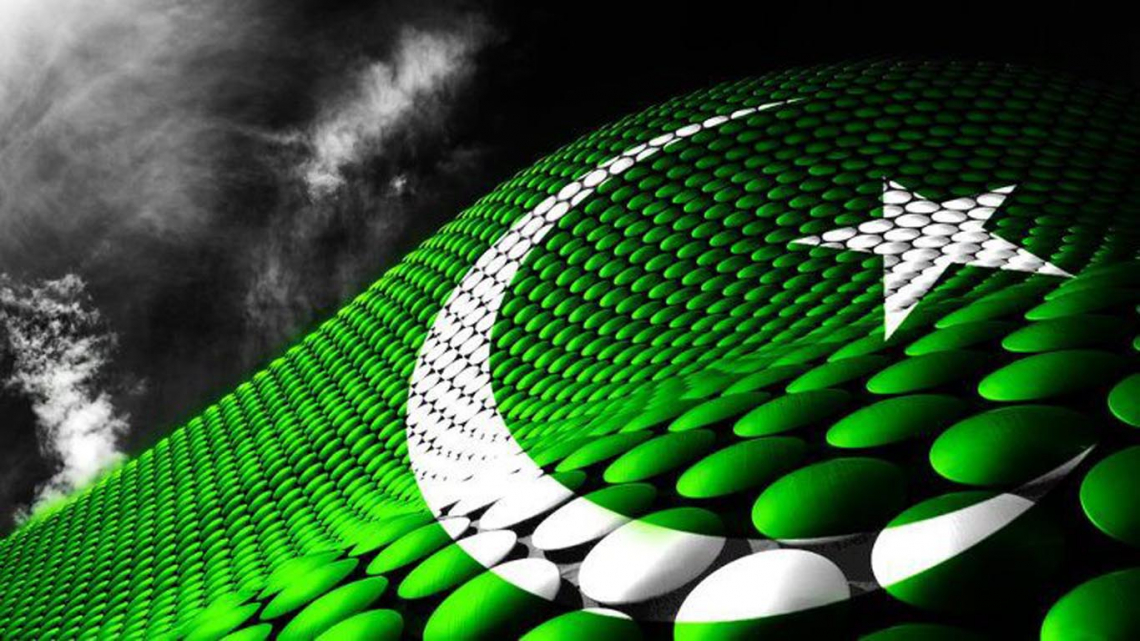 Pakistan Independence Day Flag 14th August