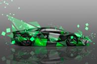 Lamborghini aventador side aerograp