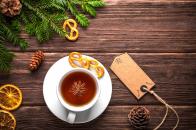 Christmas, cup, of, tea,