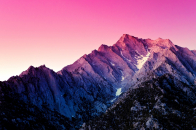 Android, mountains