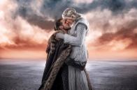 Jon snow and khalessi love cosplay 4k cb