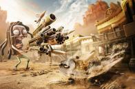 Funny wild west gun fighters