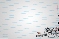 Calvin and hobbes drawing