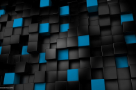Black and blue widescreen 1080p abstract desktop