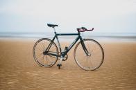 Bicycle sand beach