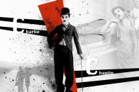 Background wallpaper for Charlie Chaplin
