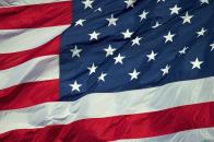 American, flag,