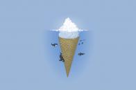 Ice berg ice cream