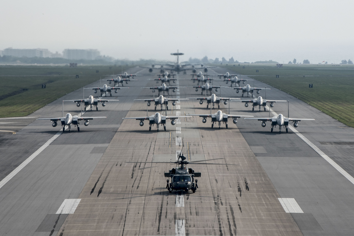 Force aircraft ready to fight