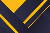 Navy blue and yellow shapes
