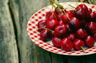 Sweet cherries fruits