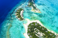 Beach islands serial view 5k