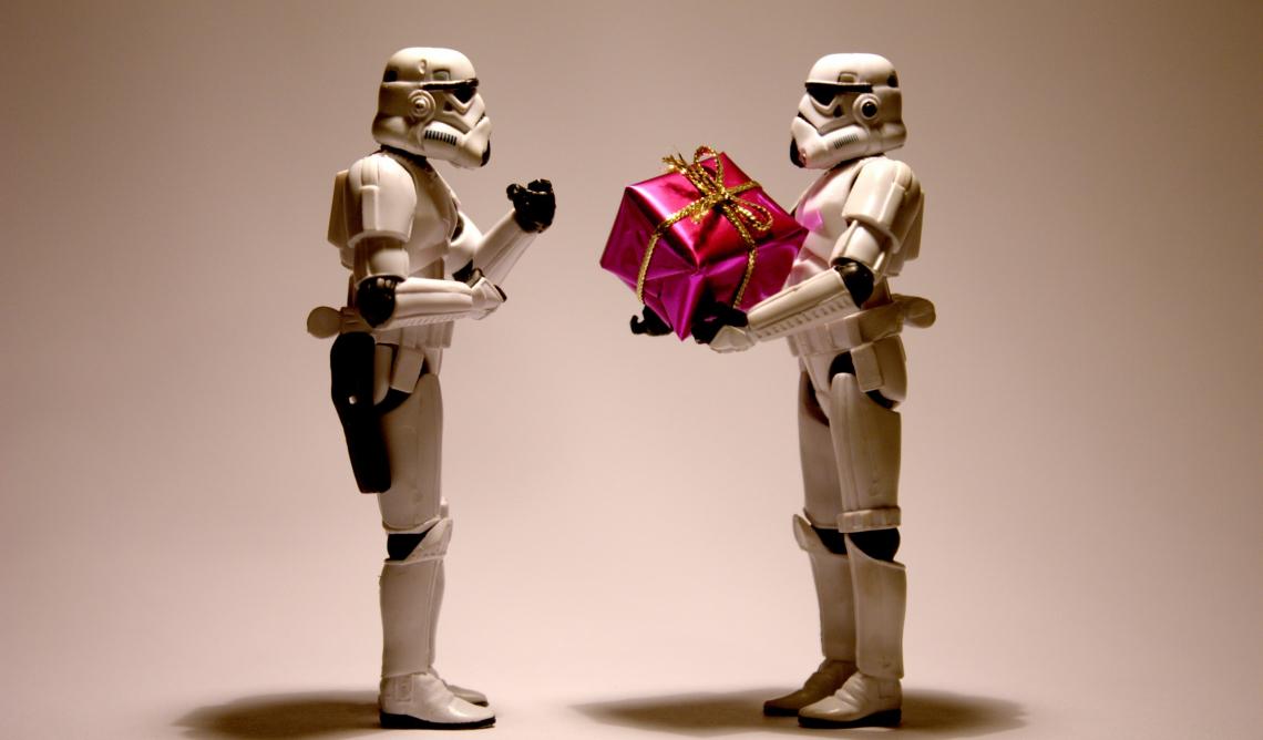 Stormtrooper, christmas