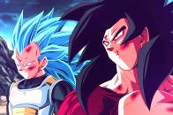 Dragon Ball Z Goku And Vegeta, Super Saiyan God Background