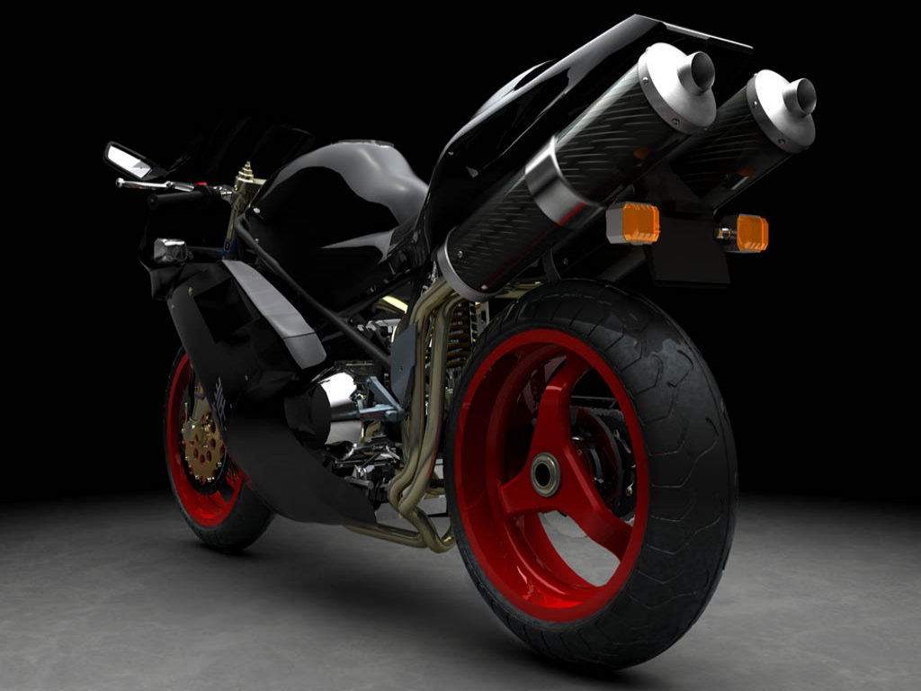 Midnight club black bike normal