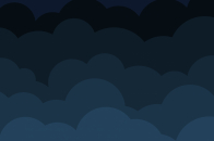 Dark cartoon clouds