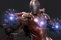 Art new iron man 4k fj