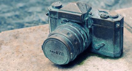 Nikon Camera Vintage Photo
