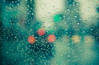 Wet windscreen