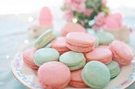 Pastel macarons aesthetic