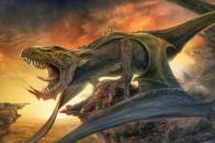 Horror dinosaur
