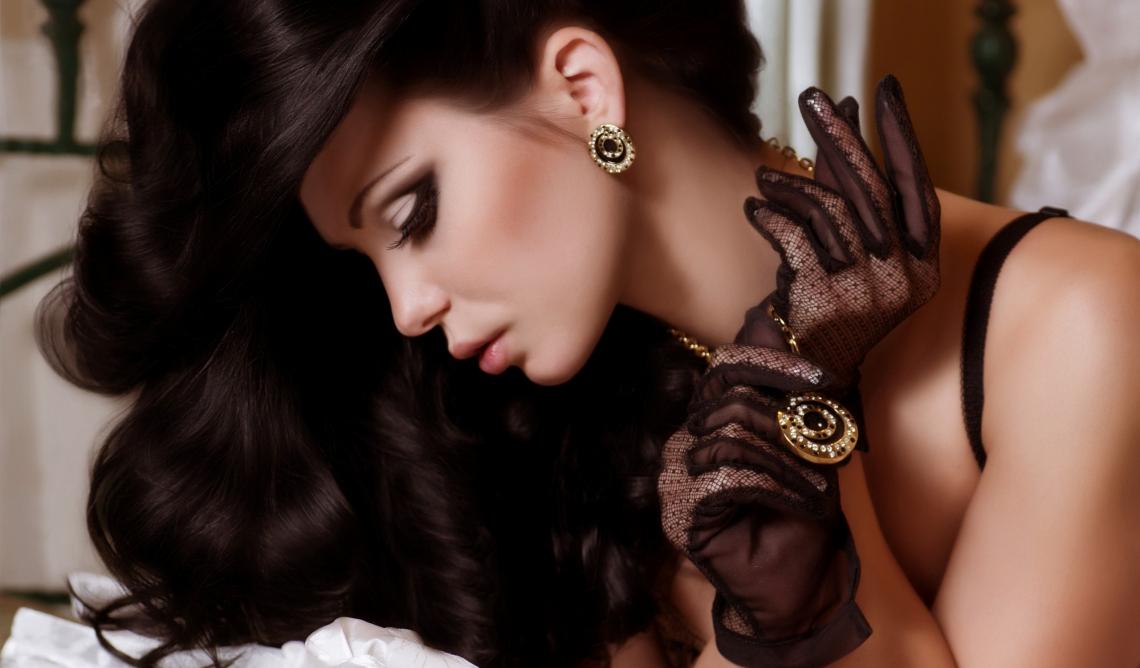 Beauty and fashion girl