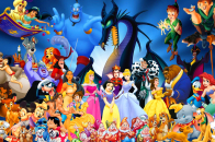 Disney Cartoon Characters computer desktop