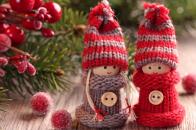 Winter, dolls