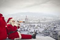 Santa, claus, is, coming