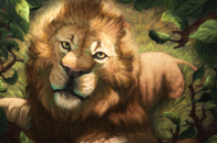 Illustractions lion, muzzle, art, drawing, predator, king of beasts