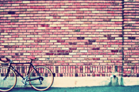 Download Cycle Image Front of Wall desktop Photo