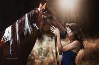 Girl Love Horse 8k Wallpaper