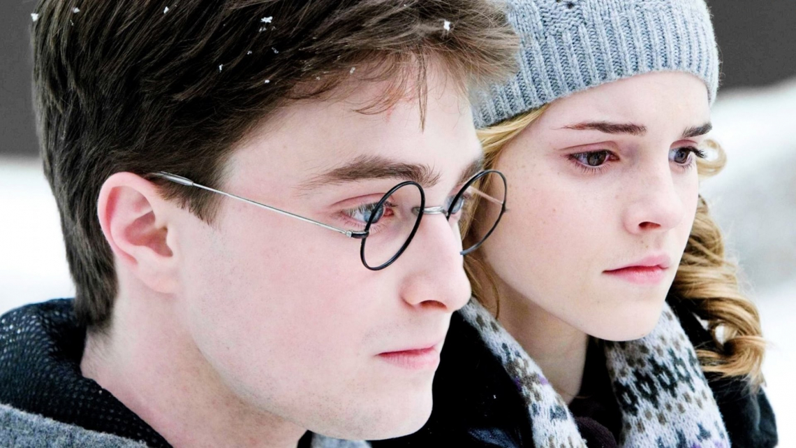 Harry potter and hermione