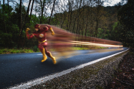 The flash the speed force