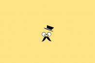 Mustache man vector art
